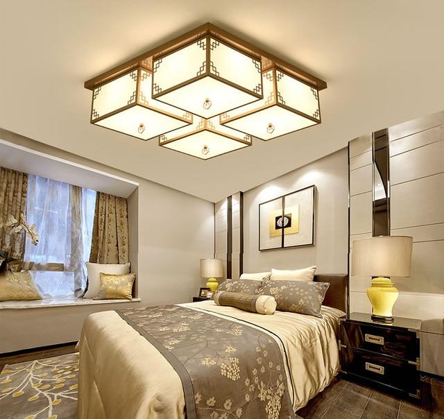 Retro slaapkamer lichten moderne nieuwe Chinese plafondlamp LED ...