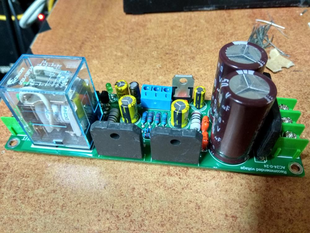 NEW DIY Kit Gainclone Dual-Channel Amplifier Board+Speaker Protection SC  3875 LM3875 50W+50W 8ohm