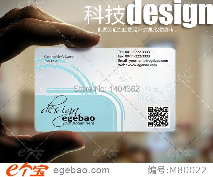 Free shipping 500pcslot full color custom pvc plastic business free shipping 500pcslot full color custom pvc plastic business cards printing 1 sides 038mm thicknesstop quality no2245 in business cards from office reheart