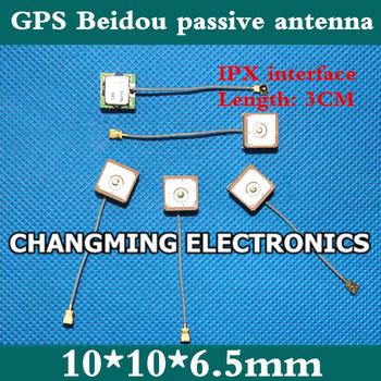 10*10*6 5mm wbudowana antena ceramiczna GPS Beidou pasywna antena inteligentne zegarki nadające się do noszenia produktów (pracy 100 darmowa wysyłka) 2 sztuk tanie i dobre opinie NoEnName_Null 10*10*6 5mm GPS Beidou passive antenna