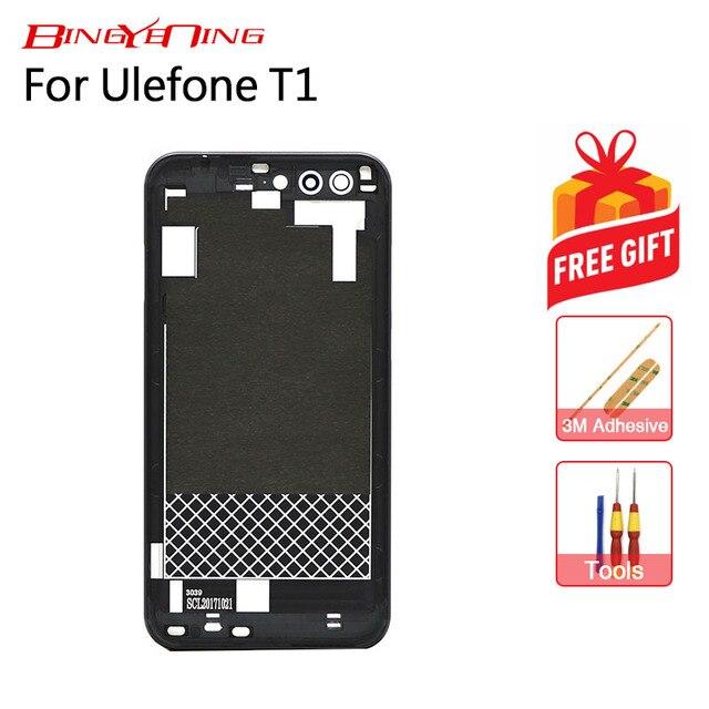 BingYeNing Için Yeni Orijinal Ulefone T1 pil kutusu Koruyucu Pil Kutusu arka kapak premium edition