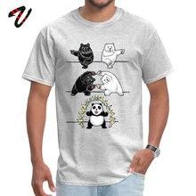 New Coming Man T-shirt Anime Panda Fusion TShirt Crew Neck Marvel Venom Tops & Tees Naruto Summer/Autumn Funny T Shirts