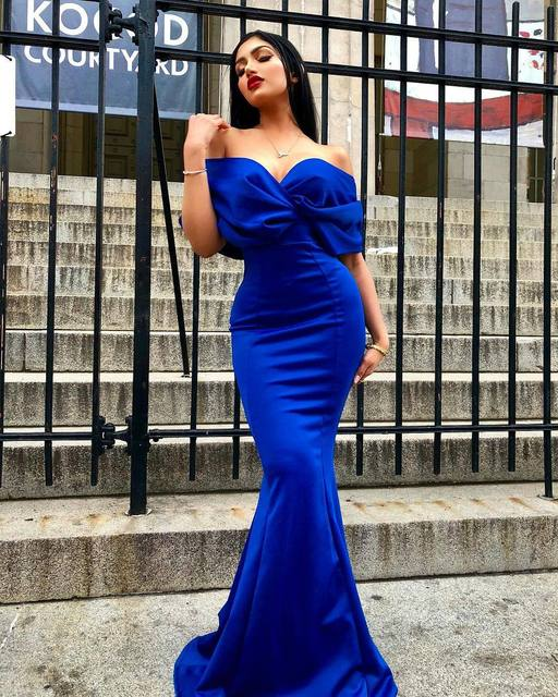 Women Maxi Dress Sexy Deep V-neck Off Shoulder Party Celebrate Sexy Evening Dating Night Out Dancing Long Package Hip Robe Tunic 2