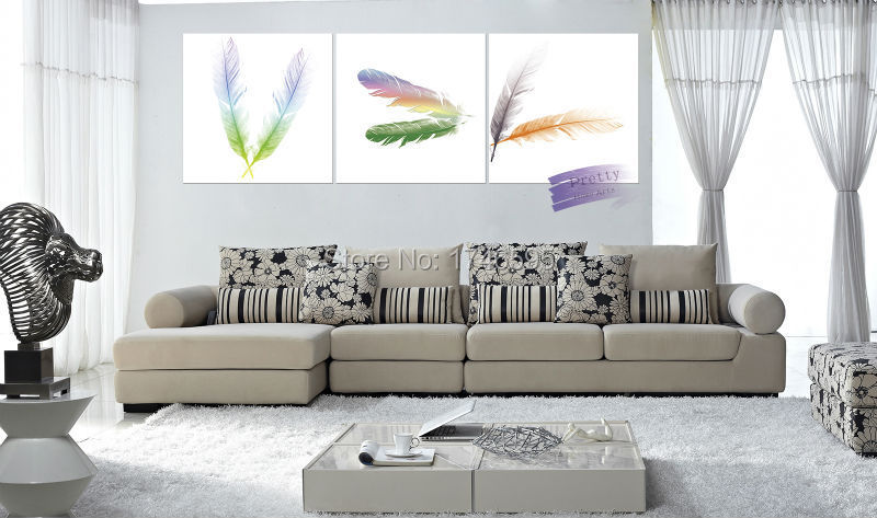 Feather Wall Art compare prices on feather picture- online shopping/buy low price