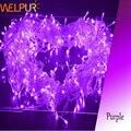 50 pçs/lote 20 M 200 LED String Fada luz para casamento festa de natal Luz decorativa Do Natal 110 v/220 V UE/EUA Plug Por Fedex