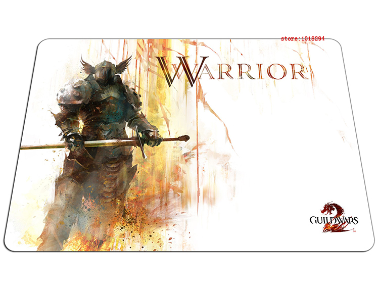 guild wars 2 mouse pad warrior gaming mousepad anime gamer mouse mat pad game computer desk padmouse keyboard large play mats
