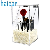 Makeup Brush Holder Dustproof Storage Box 5mm Thick Acrylic Makeup Organizer U70220