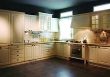 PVC/vinyl kitchen cabinet(LH-PV028)