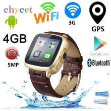 A9 Android Bluetooth Smart Watch Telefon Dual Core WiFi GPS Smartwatch 5MP Kamera Max 32 GB TF Karte Armbanduhr Intelligente uhr
