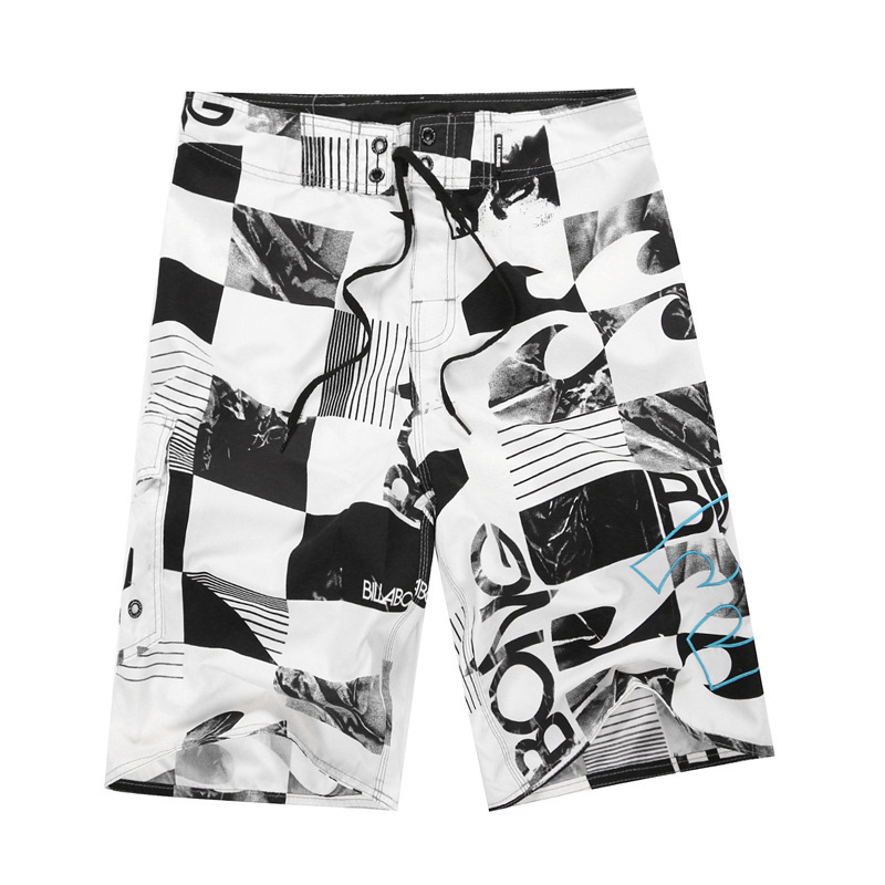 2019 New Summer Brand Men's Board Shorts Beach Brand Shorts Surfing Bermudas Masculina De Marca Print Men Boardshorts