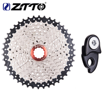 ZTTO MTB Bicycle Freewheel 9 Speed 11- 42T Cassette Freewheel Mountain Bike Bicycle Parts WIDE RATIO Compatible for M430 M4000