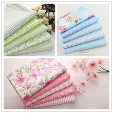 Teramila Cotton Fabric 3 Sets/lot 15 PCS 40cmx50cm Fat Quarters Bundle Quilting Patchwork Sewing For Tilda Baby bedding(China)