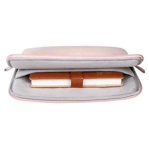 Image 4 - MOSISO スーパーシャイニング Pu ラップトップスリーブバッグブリーフケース Macbook Pro の空気網膜 13 13.3 インチ防水女性のノートブックハンドバッグ