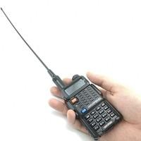 """uv 5r uv 1 / 2pcs ANEOU NA-771 VHF / אנטנה Talkie Walkie Band Dual UHF עבור Baofeng UV-5R UV-82 BF-888S Yaesu DMR Portable 10 ק""""מ Ham CB רדיו (2)"""