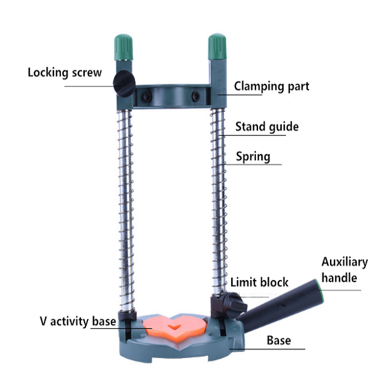 Hogar Inteligente ángulo ajustable portabrocas guía para uso en el hogar