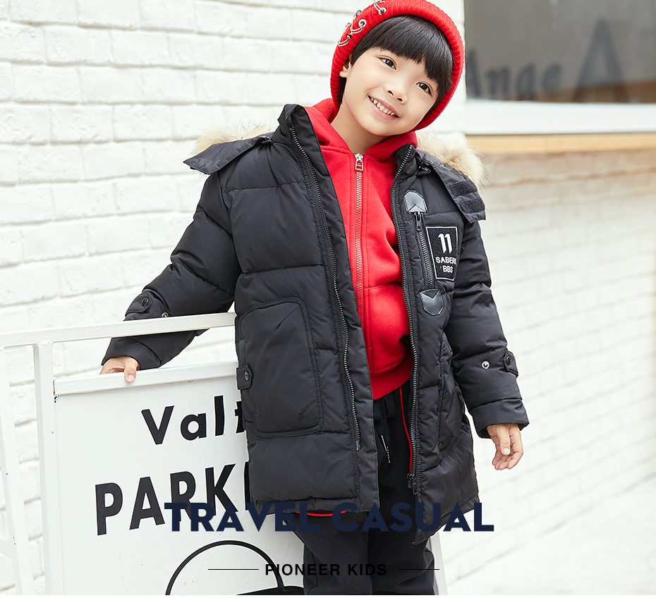 ccad8dd88 Товар Pioneer Camp Kids Winter boys parkas Cotton Outerwear Coats ...