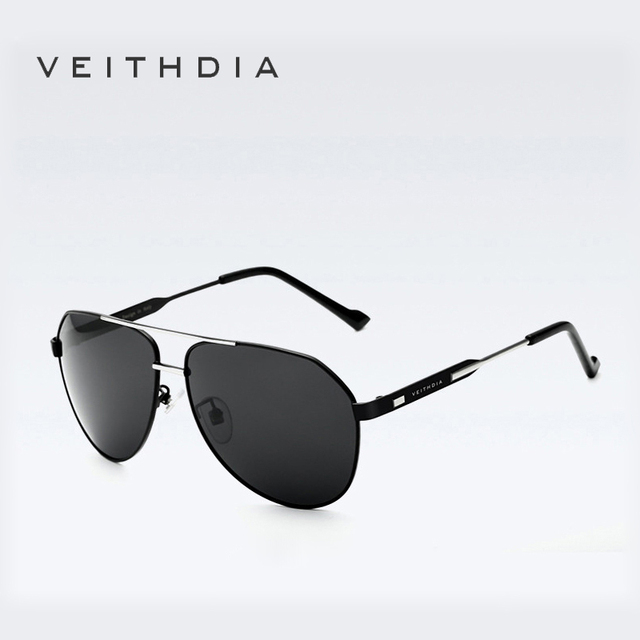 VEITHDIA Brand Men Sunglasses Polarized Mirror Lens Big Driving Eyewear Accessories Sun glasses For Men/Women 3562
