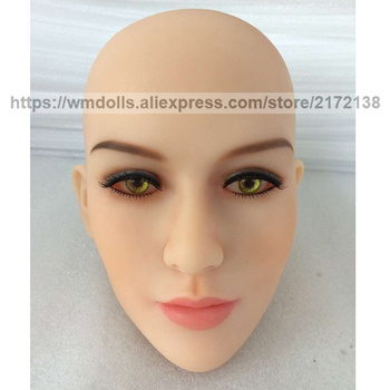 WMDOLL Realistic Sex Doll Head For 140-172cm Japanese Love Dolls Real Adult Doll Heads For Men