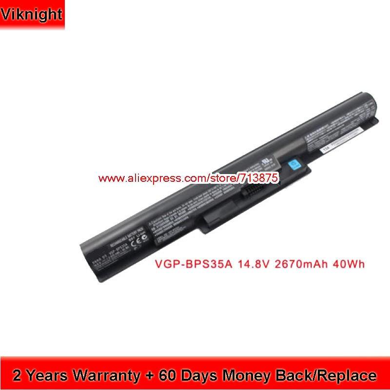 Original VGP-BPS35A batería para Sony Vaio SVF152C29M 14E 15E SVF1421X2EB SVF15217SC SVF152A29M portátil batería de 14,8 V 2670 mAh 40Wh