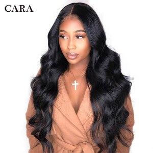250 густой парик с подкладкой 13x6 Синтетические волосы на кружеве парики из натуральных волос для Для женщин объемная волна парик бразильские...