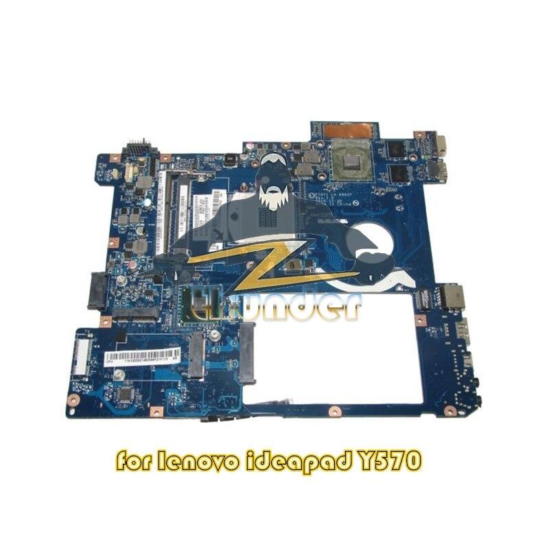 Nokotion LA-6882P Main Board for lenovo ideapad y570 laptop motherboard hm65 ddr3 gt555m Video Card nokotion notebook pc motherboard for lenovo ideapad g500 main board system board viwgpgr la 9632p hm76 ddr3