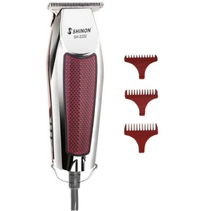 Image 1 - Tondeuse à cheveux professionnelle à cordon, tondeuse électrique tondeuse à barbe pour hommes, accessoire pour couper les cheveux, kit de coiffeur pour finition
