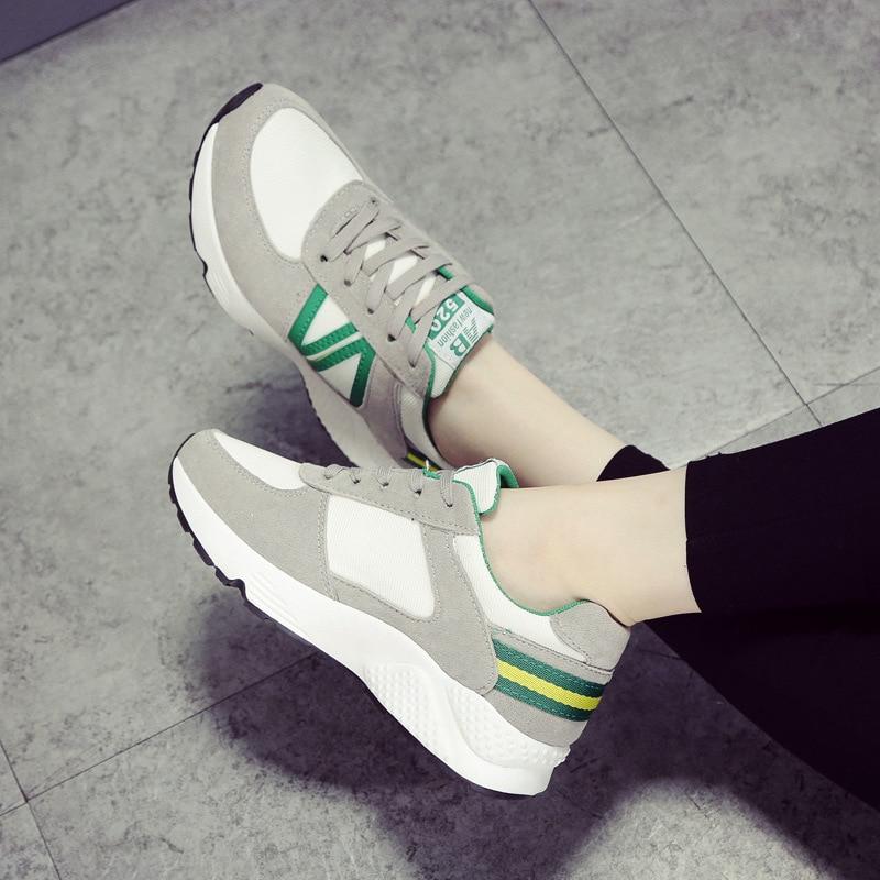 Shoes Woman Allmatch Walking Sports Shoes Flat Autumn Koreans
