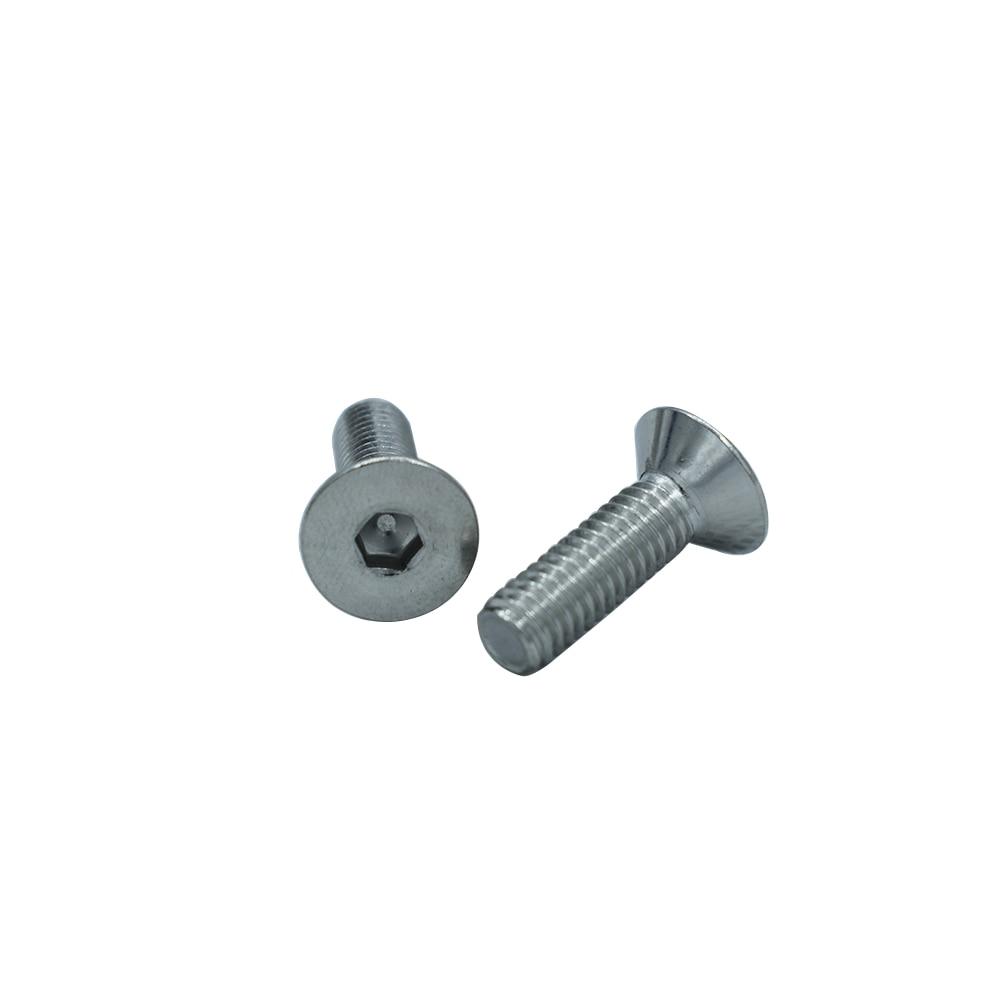 DIN7991 304 Stainless Steel Hexagonal Countersunk Screws Flat Head Screw Bolt 4-50mm making sense of christian art