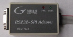 GY7632 RS232 Serial Port SPI Interface Adapter Serial To SPI 232 To SPI