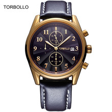 2017 Mens Watches new Top Brand Luxury Men Military Sport Wrist Watch Chronograph Leather Quartz Watch