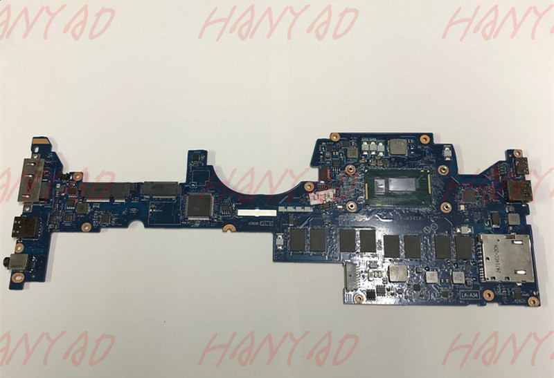 04X5496 For Lenovo Yoga S1 laptop nmotherboard i5 cpu Processor 8GB LA A341P Full Tested Free Shipping in Laptop Motherboard from Computer Office
