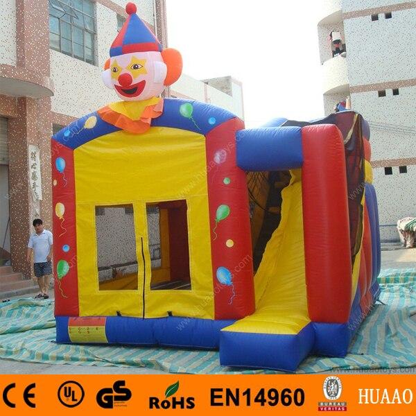 8ebcfed90c3f ⑧Коммерческие клоун надувной замок с горкой и CE Воздуходувы - a720