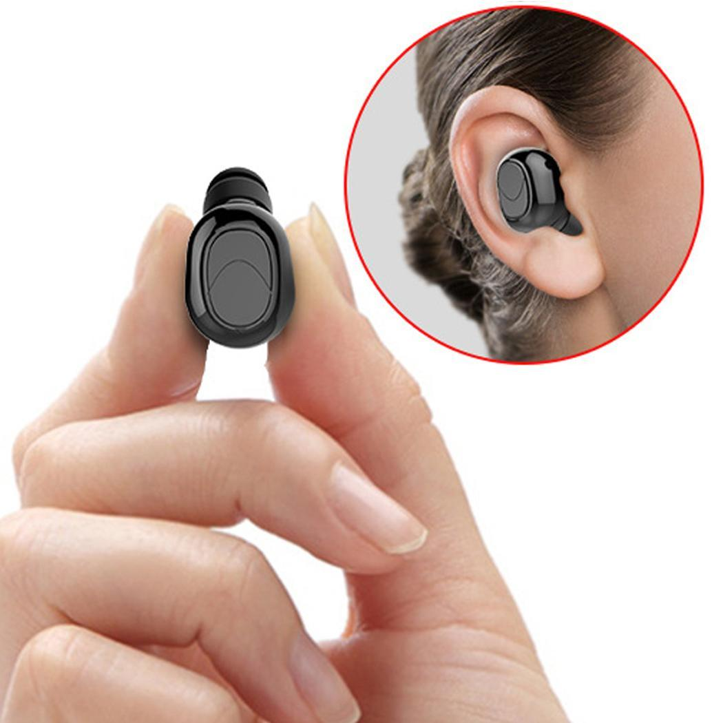 TWS Portable Wireless Earphone Bluetooth 4.1 Stereo Mini Wireless Earphone Music Call Function With Mic Sport Bluetooth Earbuds