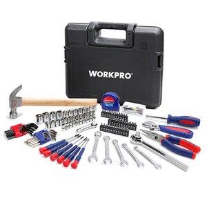 Image 2 - Workproホームツールセット家庭用ツールキットソケットセットドライバーセット家の修理ツールdiyハンドツール