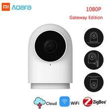 1080 P, Xiaomi Aqara, умная камера G2, шлюз, версия Zigbee, связь, IP, Wi-Fi, беспроводная, облачная, домашняя, безопасность, смарт-устройство
