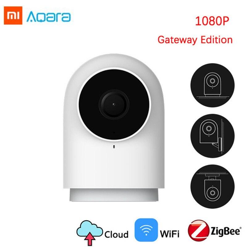 Original 2019 1080P Câmera Xiaomi Aqara Inteligente Edição G2 Gateway Zigbee Ligação Nuvem IP Wi-fi Sem Fio Home Security SmartDevice