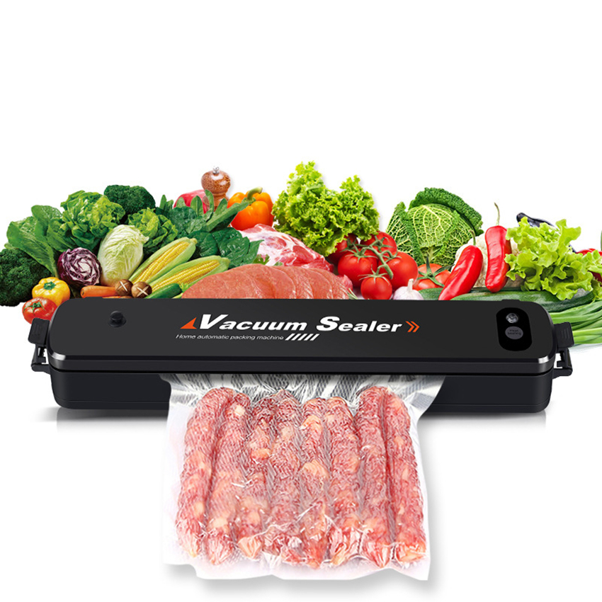 цена vacuum sealer 110-220V vacuum food sealer kitchen tool vacuum machine Household automatic Food Sealer