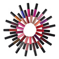 34pcs 34colors QiBest Soft Matte Shimmer Lip Cream Lip Gloss Long-lasting Waterproof Non-stick Cup non-fade lipstick