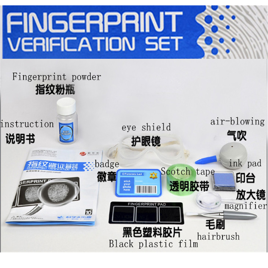 DIY Science Kits Fingerprint Verification Set Scientific Experiment Toy For Kid,educational Learning Funny Toys