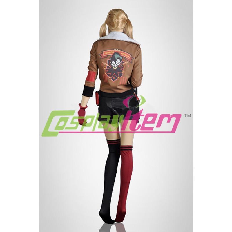 Personnalisé Batman Bombes Cher Veste Harley Pas Cosplay Film Quinn Oqznw