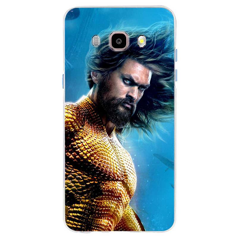 DC комиксы, фильм Аквамен Чехол Мягкий силиконовый чехол для телефона для Samsung Galaxy S6 S6edge S7 S7edge S8 S9 плюс A5 J5 J7 2016
