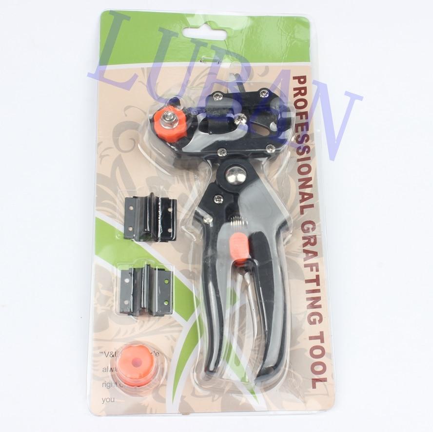 где купить  LUBAN Grafting machine Garden Tools with 2 Blades Tree Grafting Tools Secateurs Scissors grafting tool Cutting Pruner jt001  по лучшей цене