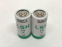 2pcs/lot New Original SAFT LSH14 C 3.6V 58000mAh Lithium Battery Batteries Non-rechargeable(LSH20) Made in France