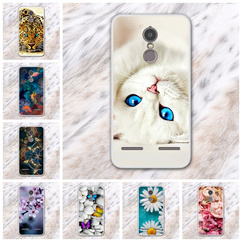 Cases For Lenovo K6 Power K33A42 Soft Silicone TPU Fashion Pattern Painting For Lenovo K ...