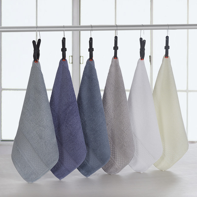 Soft Face-Towel Travel Handchief Sports 100%Cotton Gym Solid Toalha Fast-Drying Camping