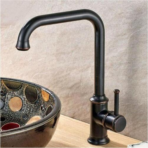 Modern Kitchen Faucet Swivel Brass Faucets Bathroom Tall Faucet Sink