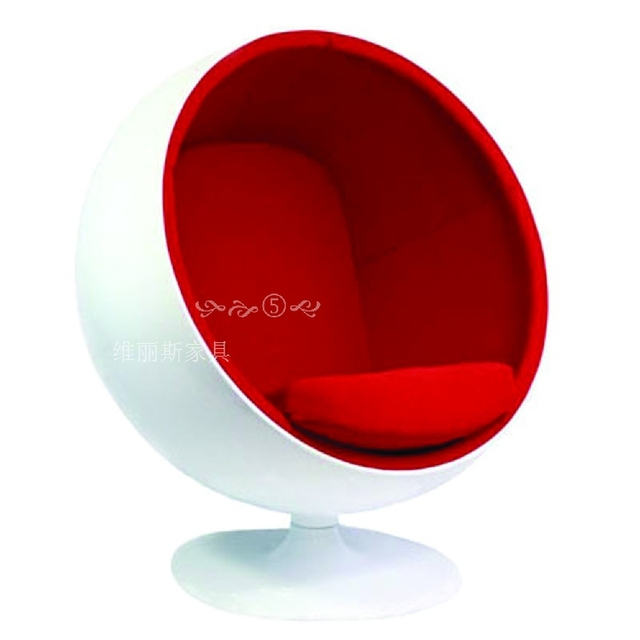 Frp Great Ball Chair Egg Bubble Swivel Children Clic Creative Lazy Sofa Computer