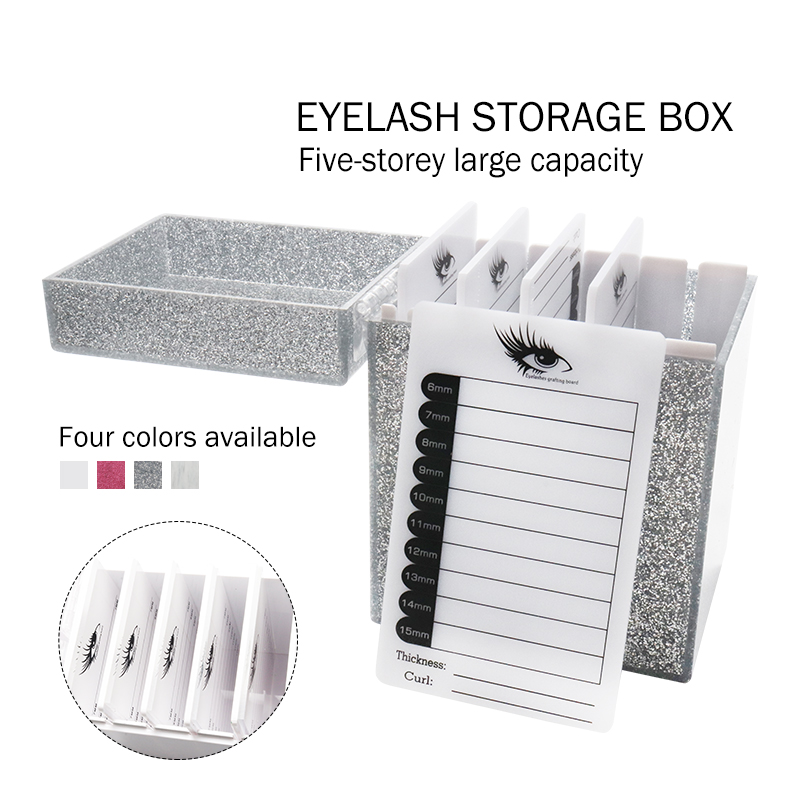 5/10 Layers Pallet Lash Holder Individual Lash Volume Display Stand Eyelashes Storage Box Tools For Eyelash Extension MakeupTool