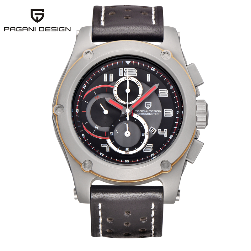 Men Watches Luxury Brand Pagani design Multifunction Men's Sports Quartz Wrist Watch Swiss Military Watches relogio masculino jargar jag6905m3s1 new men automatic fashion dress watch silver color wristwatch with black leather band free shipping