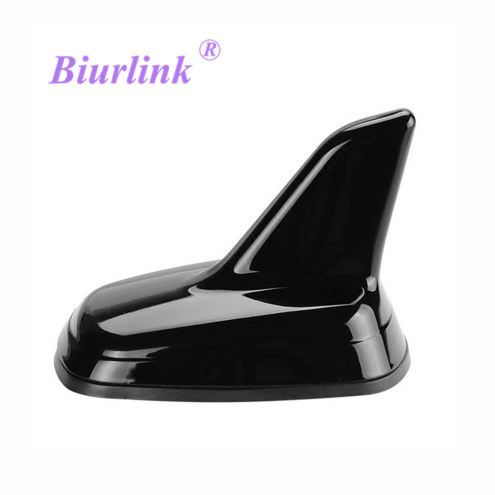 Biurlink 2019 NEW Car-styling Auto Shark Decorate Antenna For Volkswagen Golf 7 G.TI(China)